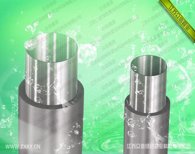 外包钢增强不锈钢管结构