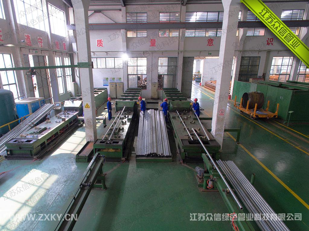 外包钢增强不锈钢管生产工艺