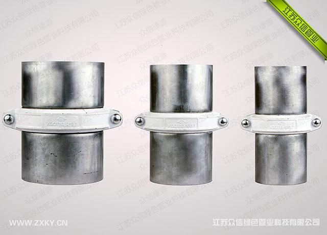 沟槽连接增强不锈钢管