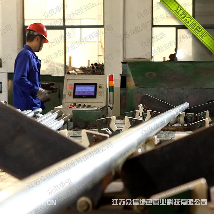 增强不锈钢管生产工艺技术