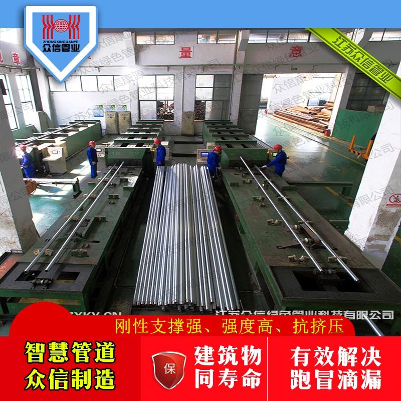增强不锈钢管工艺生产线